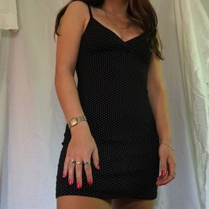 Brandy Melville polka dot Amara Dress